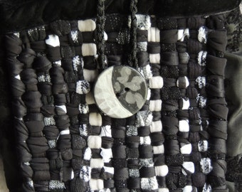 Handmaid fabric purse