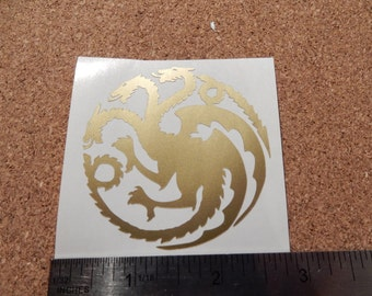 Targaryen Dragon Game of thrones Vinyl Decal