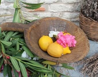 Handmade Unique Wood  Bowl,Small Wooden Bowl,Kitchen Decor