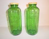 2 1950s SunSweet Juice or Water Jars