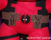 Handmade Deadpool Plush Toy