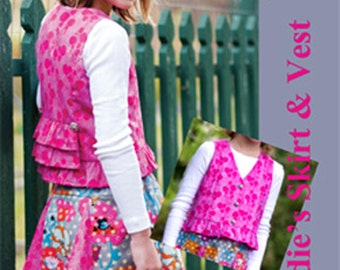 Sadie's Skirt & Top sizes 3, 4, and 5