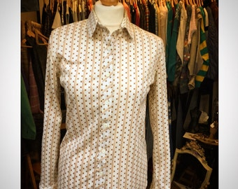 1970's Patterned Shirt