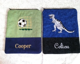 Child's Personalized Tablet / Ereader Cover