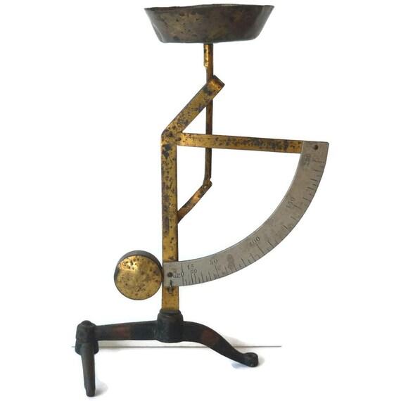 Vintage Pendulum Scale Depose Postal Chemist Pharmacist