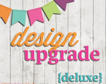 Add-on Design Upgrade - DELUXE