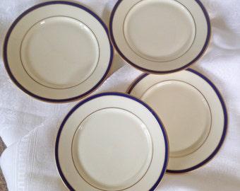 On Sale! Lenox China Urban Twilights Appetizer Plates - Set of 4