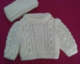 American Girl Doll Sweater and Headband