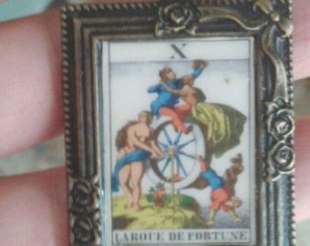 tarot necklace bronze cute card tarot