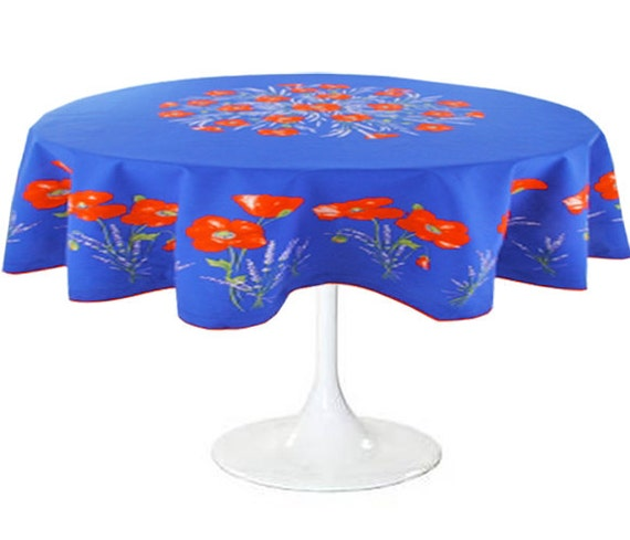 Items Similar To Indoor Outdoor Round 70 Tablecloth