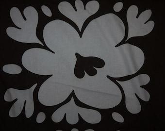 Vallmo / Poppy - Borås Cotton - Fabric - 1968 - Birgitta Hahn - Big pattern