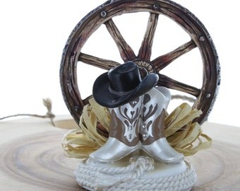 Western Themed Cake Topper/ Wedding