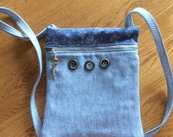 Shoulder Mini Denim Bag