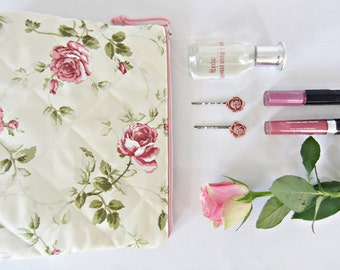 Toiletry - Cosmetic - pencil case English roses
