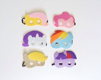My Little Pony Mask - Birthday Party - Party Favors - Mask - party supplies