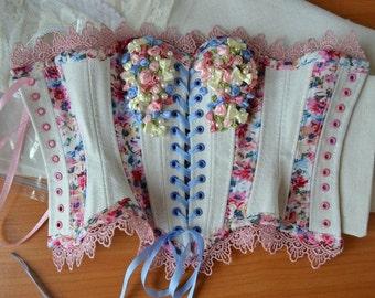 Pattern doll corset, corset supergem, bjd clothes, bjd corset, bjd, (SuperGem old and new body)