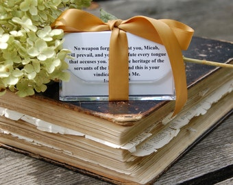 Personalized scripture cards custom gifts by gloriousbygloriac personalized bible verses hostess gift gift custom scripture cards bible gift negle Choice Image