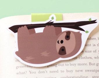 Sloth Magnetic Bookmark (Jumbo)