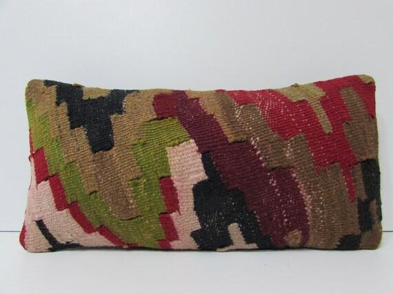 Colorful Rustic Throw Pillows : rustic lumbar pillow colorful pillow cover long pillow case