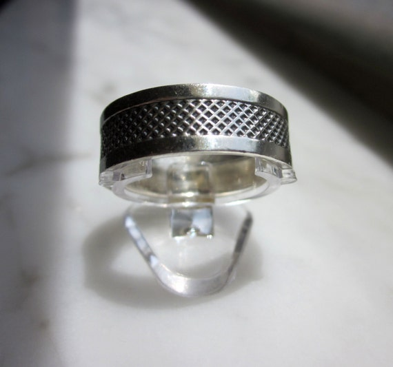 sterling wedding band mans silver wedding band 925 wedding ring grooms