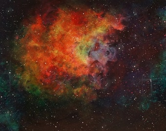 Nebula Original Space Art Painting