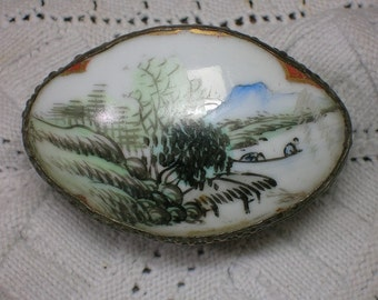 Chinese Porcelain Box. Antique Shard, Small & Decorative. Gift, Jewelry, etc