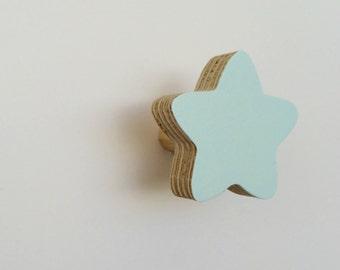 Wall Hook Star Polar Blue