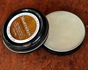Martexin wax for waxed canvas maintenance, rewaxing, making waxed canvas or waxed fabric