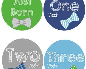 Bowtie Onesie Stickers