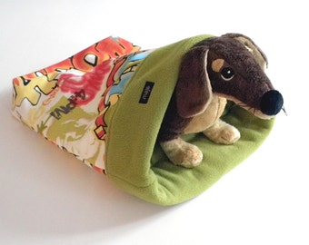 Dog bed / Cave bed / Snuggle bed / All Seasons dog bed / Burrow bed / Graffiti dog bed
