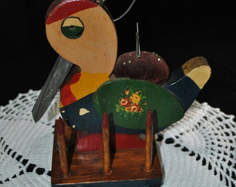 Multi colored Sewing Bird