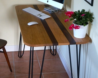 Oak & Walnut Desk/Kitchen/Dining Table