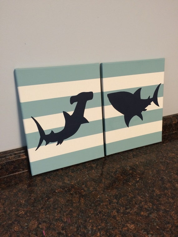 shark bedroom decor shark nursery shark toddler room wall navy and aqua shark 13143