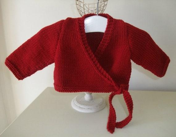 Ballet Cardigan Knitting Pattern : Knitting Pattern for Ballerina Ballet Cardigan