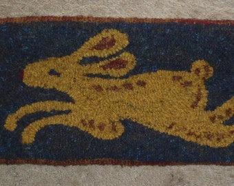 The March Hare Rug Hooking Pattern