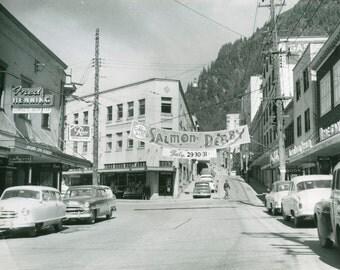 "Juneau, Alaska ""Salmon Derby"" 1950s Photo Print"