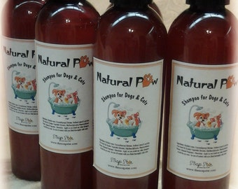 Natural Paw Pet Shampoo (For Dogs and Cats)