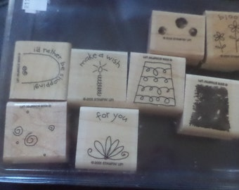 Stampin Up FUN FILLED Stamp Set Never Used