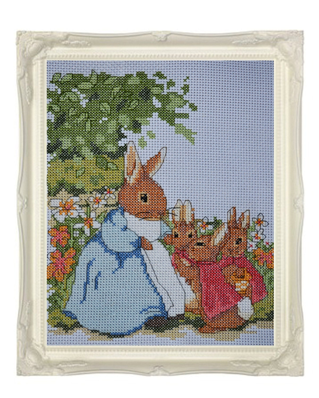 De gift van pasen peter rabbit kwekerij door serendipitypaperieuk