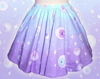 """Blue """"Starry Eyes"""" Skirt"""