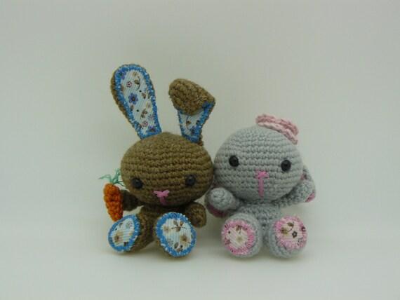 Etsy Amigurumi Bunny : Items similar to Easter Bunny Amigurumi on Etsy
