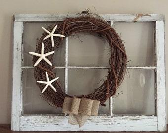 Starfish Wreath | Coastal | Beach House | Housewarming