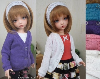 Kawkana - Clasic Colorfull SWEATHER for Iplehouse KID, Unoa Chibi, Clothes for other 35cm BJD