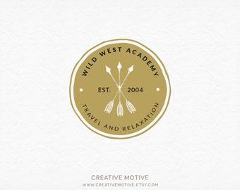 Premade Custom Logo, Typography Logo, Photography Logo, Vintage Logo, Vintage Typography Logo, Premade Logo Design