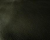 Argentina COW Hide Leather Skin Grainy Black - 7 Sq.Ft  (3 oz)