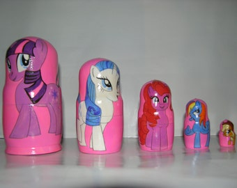 Little Pony nesting doll