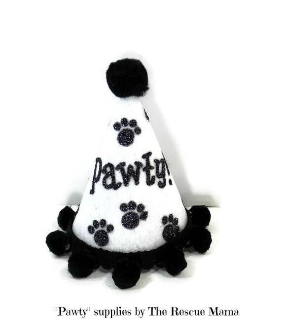 Party Hat Dog Birthday Printable