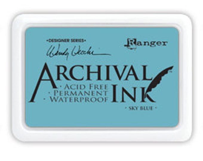 SKY BLUE Wendy Vecchi Archival Ink Pad by Ranger