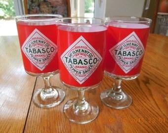 TABASCO SAUCE McILHENNY Co 6 Inch Red Eye Glasses