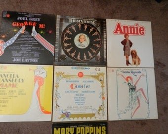 LP Record Albums - Broadway Shows - 33 1/3 rpm - Annie SOLD